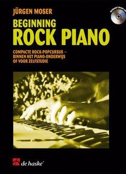 De Haske Beginning Rock Piano | Compacte rock-popcursus binnen het piano-onderwijs of voor zelfstudie
