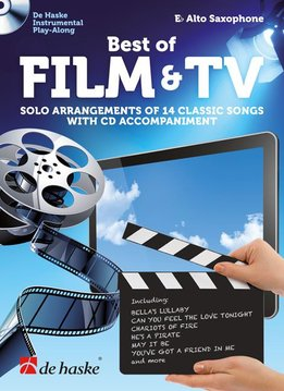 De Haske Best of Film & TV | met Play Along CD voor altsaxofoon