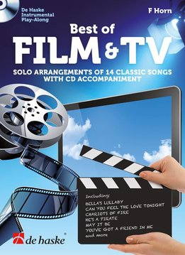 De Haske Best of Film & TV | met Play Along CD voor Hoorn (F)