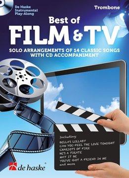 De Haske Best of Film & TV | met Play Along CD voor Trombone
