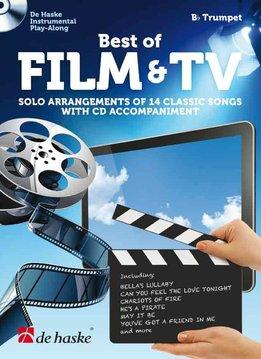 De Haske Best of Film & TV | met Play Along CD voor Trompet in Bes