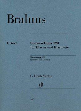 Henle Verlag Brahms | Klarinetsonates op. 120