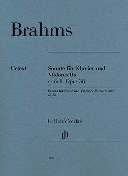 Henle Verlag Brahms, J. | Sonate voor Cello en Piano in e klein op. 38