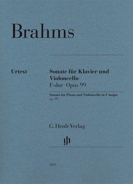 Henle Verlag Brahms, J. | Sonate voor Cello en Piano in F op. 99
