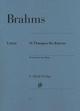 Henle Verlag Brahms, J.   51 Oefeningen voor Piano