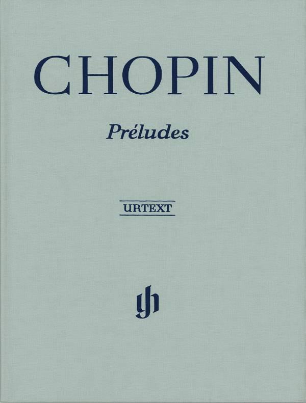 Henle Verlag Chopin | Préludes voor piano | Harde kaft