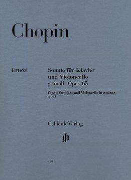 Henle Verlag Chopin | Sonate voor Cello en Piano in g klein op. 65