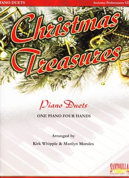 Santorella Christmas Treasures (+ CD) | Piano Duetten (quatre mains)