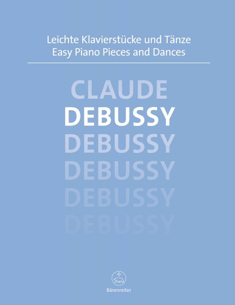 Bärenreiter Debussy, Claude | Easy Piano Pieces and Dances