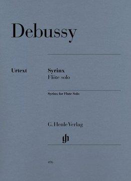 Henle Verlag Debussy, C. | Syrinx | La flûte de Pan voor fluit solo
