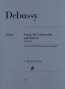 Henle Verlag Debussy | Sonate in d klein voor Cello en Piano