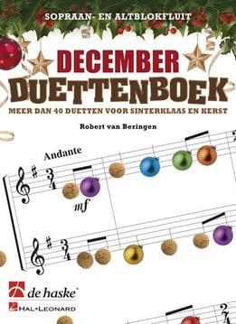 De Haske December Duettenboek | Alt- & Sopraanblokfluit