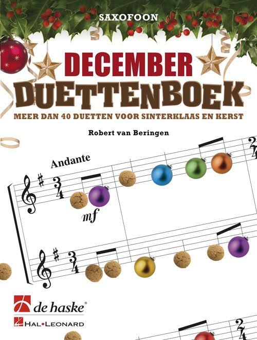 De Haske December Duettenboek | Saxofoon
