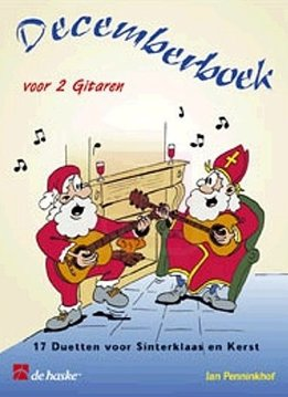 De Haske Decemberboek voor 2 gitaren | 17 duetten voor Sinterklaas en Kerst