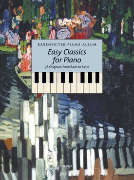 Bärenreiter Easy Classics for Piano | 36 Originele werken van Bach tot Satie