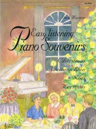 Reba Easy Listening Piano Souvenirs Kerstmis