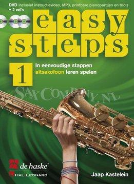 De Haske Easy Steps 1   Methode voor altsaxofoon