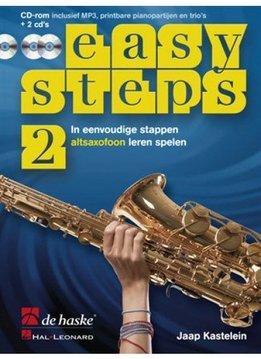 De Haske Easy Steps 2   Methode voor altsaxofoon
