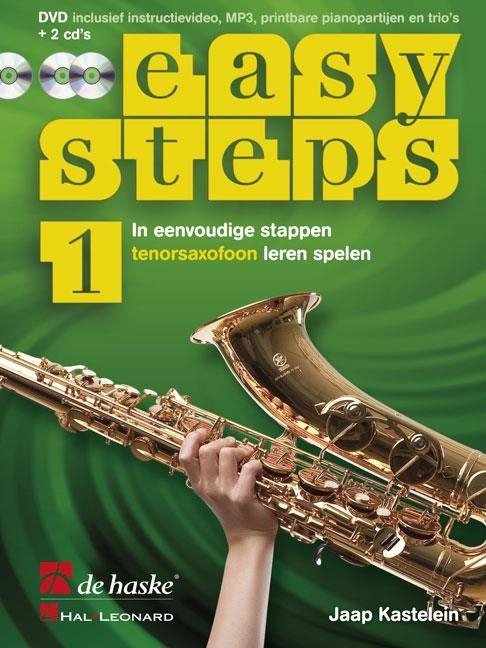 De Haske Easy Steps 1   Methode voor Tenorsaxofoon   In eenvoudige stappen Tenorsaxofoon leren spelen