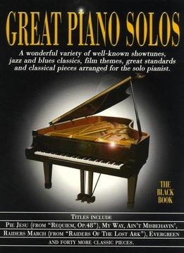Hal Leonard Great Piano Solos | The Black Book