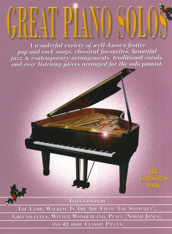 Hal Leonard Great Piano Solos | The Christmas Book