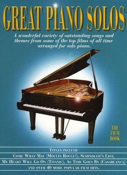 Hal Leonard Great Piano Solos | The Film Book
