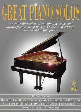 Hal Leonard Great Piano Solos | The TV Book