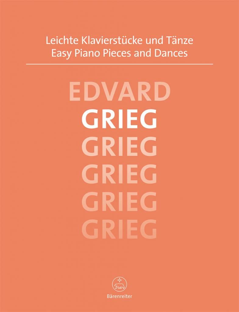 Bärenreiter Grieg, Edvard | Easy Piano Pieces and Dances