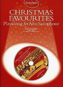 Wise Publications Guest Spot: Christmas Favourites Playalong For Alto Saxophone