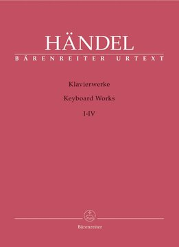 Bärenreiter Händel, Georg Friedrich | Werken voor Piano Volumes 1-4