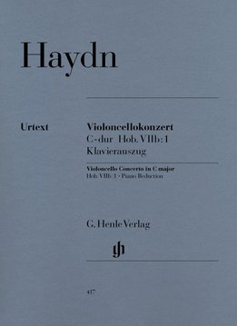 Henle Verlag Haydn   Concert voor Cello en Orkest in C Hob. VIIb:1   Piano Uittreksel
