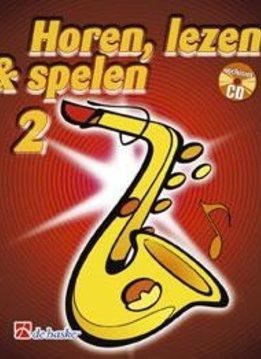 De Haske Horen Lezen & Spelen 2   Altsaxofoon   Boek + CD
