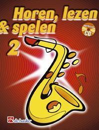 De Haske Horen Lezen & Spelen 2 | Altsaxofoon | Boek + CD