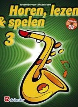 De Haske Horen Lezen & Spelen 3   Altsaxofoon   Boek + CD