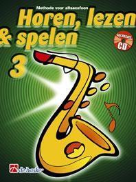 De Haske Horen Lezen & Spelen 3 | Altsaxofoon | Boek + CD