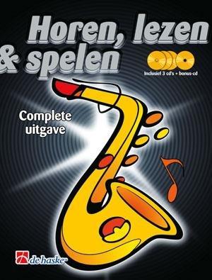 De Haske Horen, Lezen & Spelen   Complete Uitgave   Altsaxofoon   Boek + 4CD