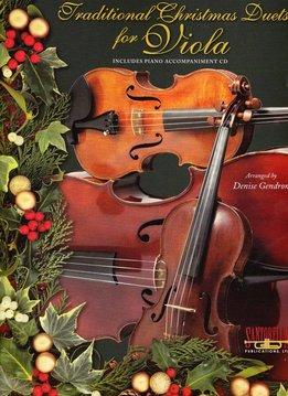 Santorella Traditionele Kerst Duetten voor Altviool (inclusief pianobegeleiding op CD)