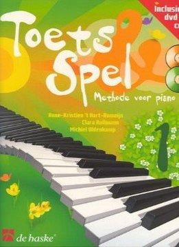 De Haske Toets & Spel 1   Methode voor piano