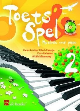 De Haske Toets & Spel 2   Methode voor piano