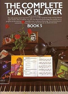 Music Sales The Complete Piano Player 5 | lesboek piano