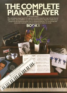 Music Sales The Complete Piano Player 1 | Lesboek piano