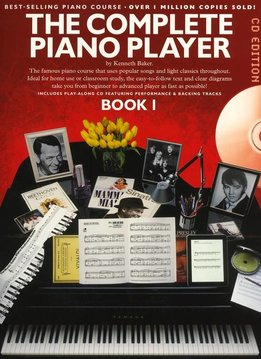 Music Sales The Complete Piano Player 1 | CD editie | Lesboek piano