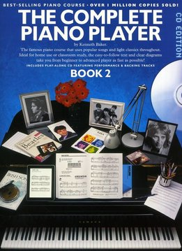 Music Sales The Complete Piano Player 2 | CD editie | Lesboek piano