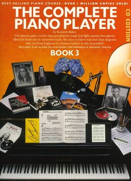 Music Sales The Complete Piano Player 3 | CD edtie | Lesboek piano