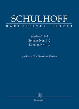 Bärenreiter Schulhoff, Erwin | Sonates voor Piano Nos. 1-3