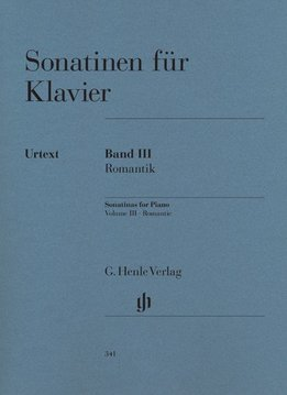 Henle Verlag Sonatines voor Piano, Volume III | De Romantiek