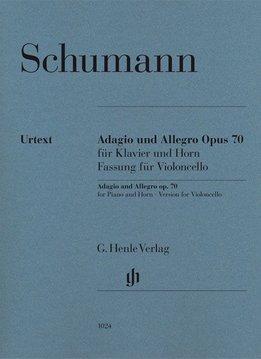 Henle Verlag Schumann, R. | Adagio en Allegro op. 70 voor Piano en hoorn