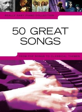 Hal Leonard Really Easy Piano Collection | 50 Great Songs