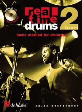 De Haske Real Time Drums 2 (NL) | Basic Method for Drumset | Boek + 2CD