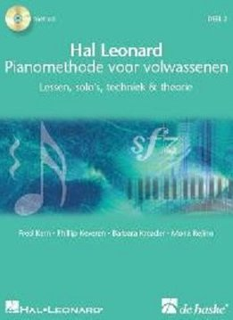 De Haske Hal Leonard Pianomethode voor volwassenen | Deel 2 | Lessen, solo's, techniek & theorie